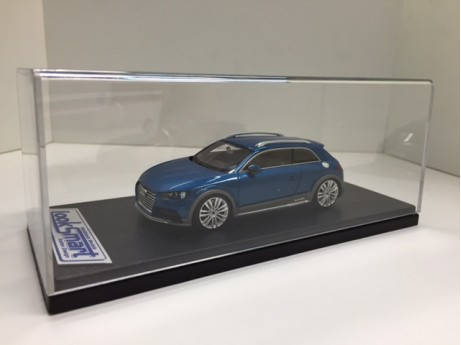 Audi All Road Shooting Brake Concept blauw 1/43