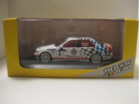 BMW 318i E36 World cup Monza 1993 #7 Tassin wit 1/43