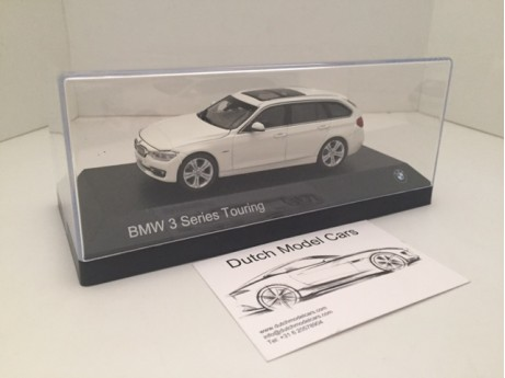 BMW 3-serie touring F31 wit 1/43