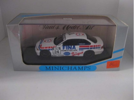 BMW 325i E36 coupe DTM 1994 #24 wit 1/43