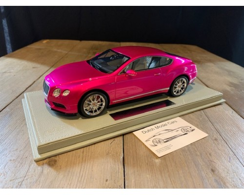 1:18 Bentley Continental GT V8 S  flash pink (BBR)