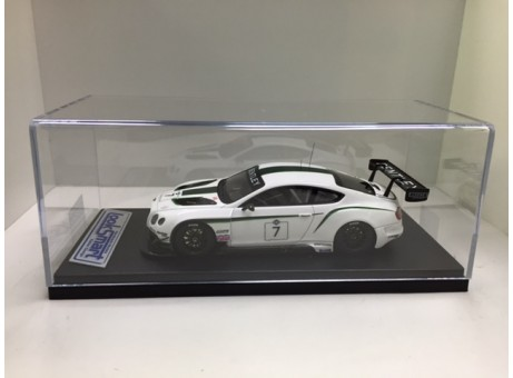 Bentley Continental GT3 #7 12H 2013 wit 1/43