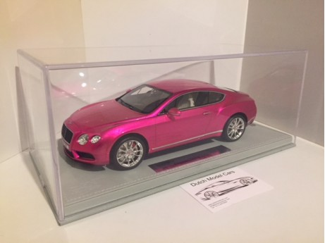 Bentley Continental GT V8 S  flash pink 1/18