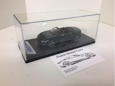 1/43 Bentley EXP 12 speed 6e EXP Green groen