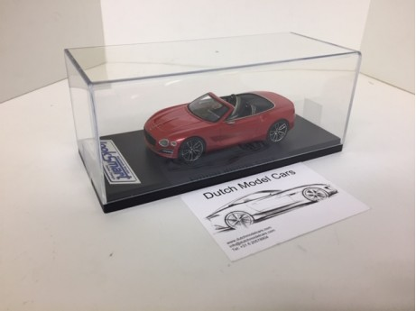Bentley EXP 12 speed 6e EXP St. James red 1/43