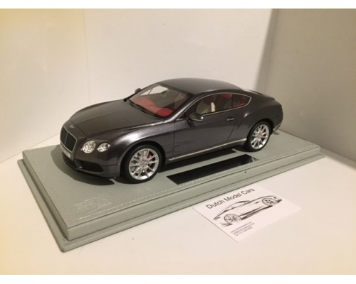 Bentley Continental GT V8 S Dark Grey Satin 1/18