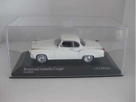 Borgward Isabella coupe 1/43