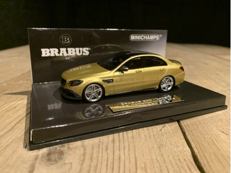 1:43 Brabus 600 Basis C63 S AMG 2015 gold (Minicamps)