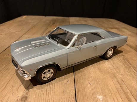 Chevrolet Chevelle SS 396 1966 Zilver
