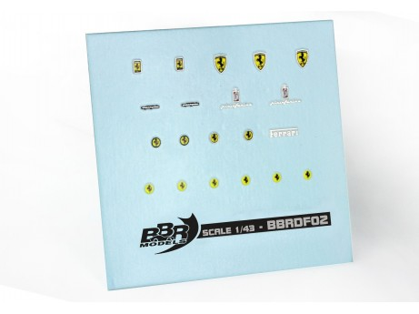 Ferrari Decal set 1/43