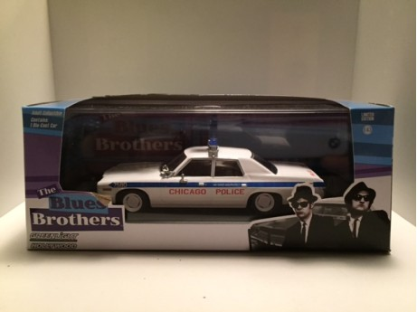 Dodge Monaco Chicago Police wit 1/43