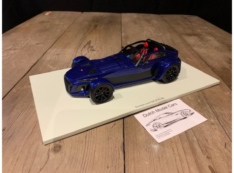 1:18 Donkervoort D8 GTO-40 2018 blauw (Spark)
