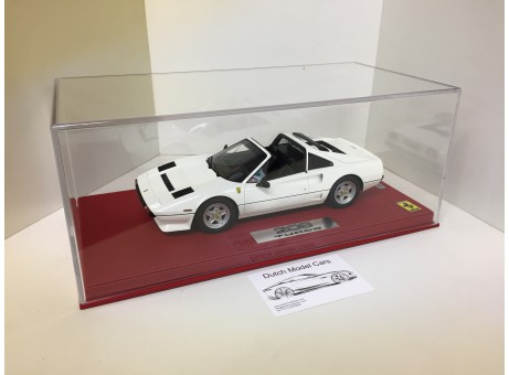 Ferrari 208 GTS turbo 1983 Avus White wit 1/18
