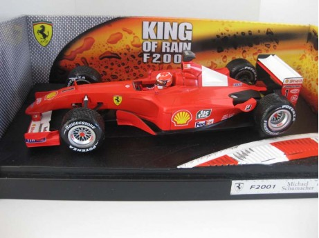 1:18 Ferrari F1 King of the rain F2001 #1