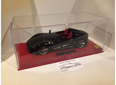 Ferrari Monza SP2 New Black Daytona 1/18