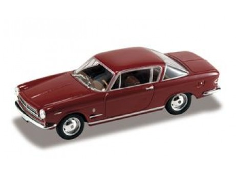 Fiat 2300 coupe 1961 rood 1/43