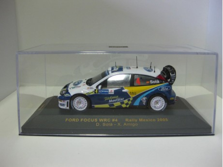 Ford Focus WRC Mexico 1/43