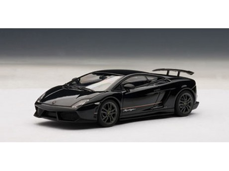 Lamborghini Gallardo LP570-4 Superleggera zwart 1/43