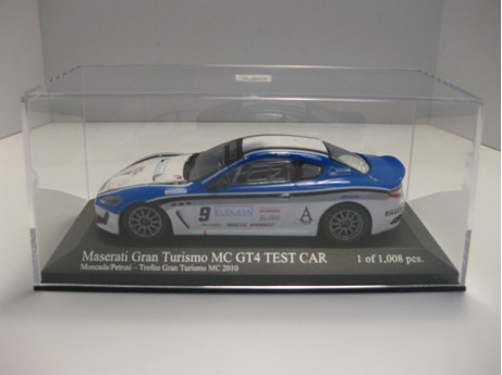 Maserati Gran Turismo MC GT4  Test Car #9 1/43