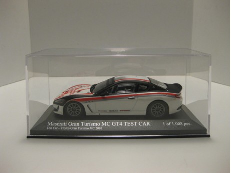 Maserati Gran Turismo MC GT4  Test Car 1/43
