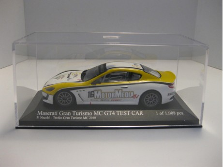 Maserati Gran Turismo MC GT4  Test Car #16 1/43