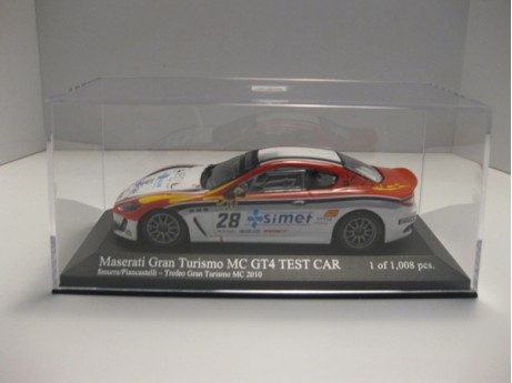Maserati Gran Turismo MC GT4  Test Car #28 1/43