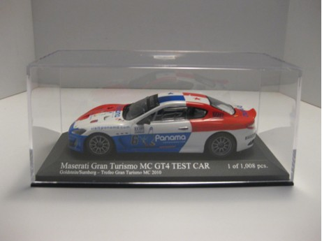 Maserati Gran Turismo MC GT4  Test Car #6 1/43