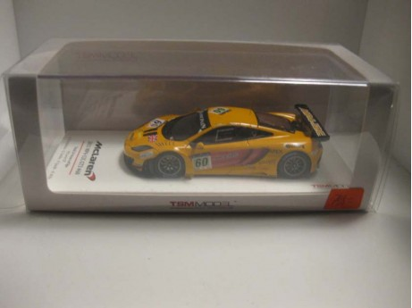 McLaren MP4-12C GT3 N #60 24h SPA geel 2011 1/43