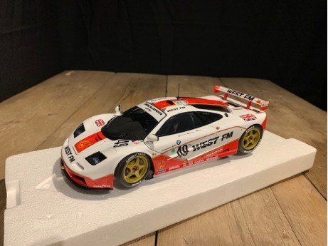 1:18 McLaren F1 GTR West Competition 24h Le Mans 1995 #49