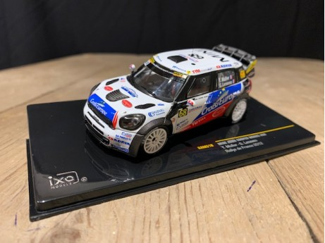 1:43 Mini John Cooper Works Rally #68 France 2012
