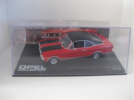 Opel Commandore A coupe 1/43