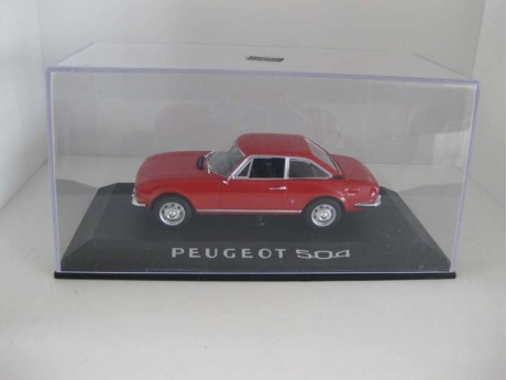 Peugeot 504 coupe 1/43