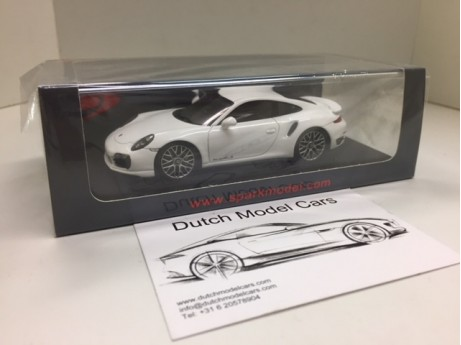 Porsche 991 Turbo S 2015 wit 1/43