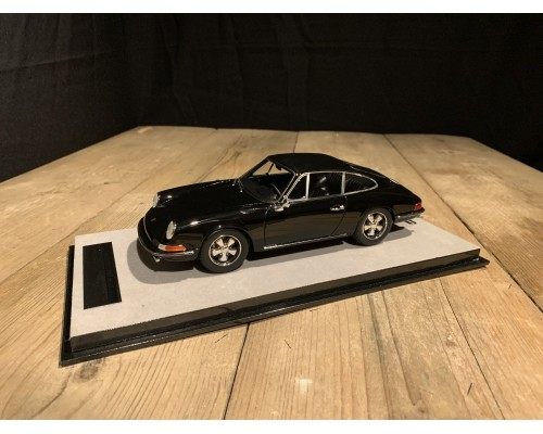 1:18 Porsche 911S 1967 street version Gloss Black (Tecnomodel)