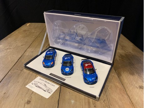 1:43 Renault Alpine A60 Celebration 2015