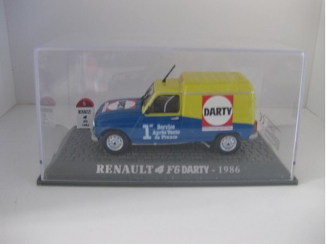 Renault 4 Darty 1/43
