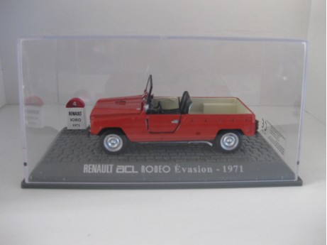 Renault ACL rood 1/43