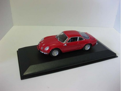 Renault Alpina A110 rood 1/43