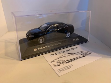 1:43 Seat Exeo sedan magic black