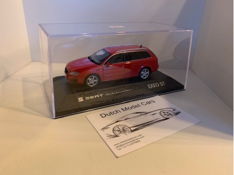 1:43 Seat Exeo ST Emocion red