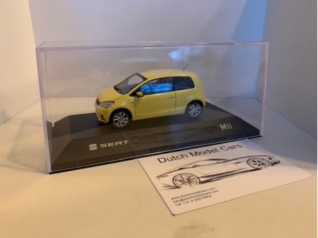 1:43 Seat Mii yellow sunflower